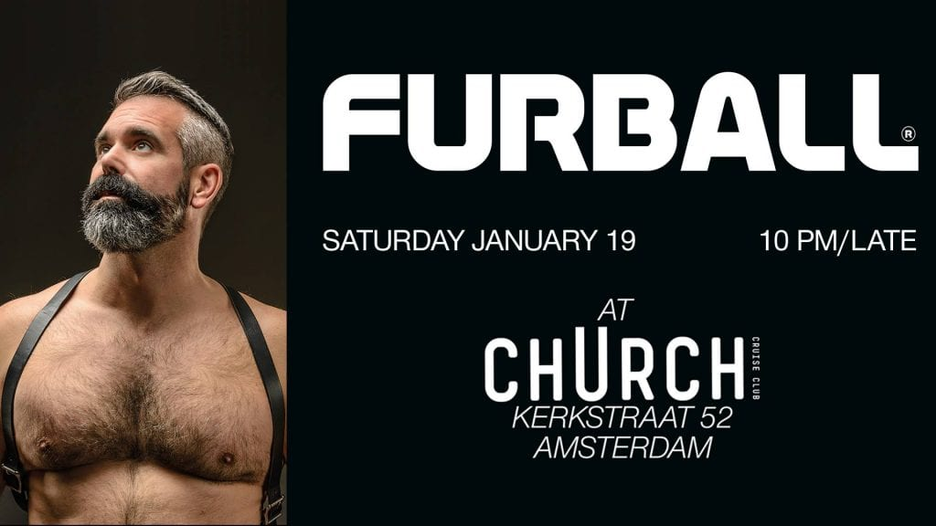Furball Gay Bear Party Club Church Amsterdam
