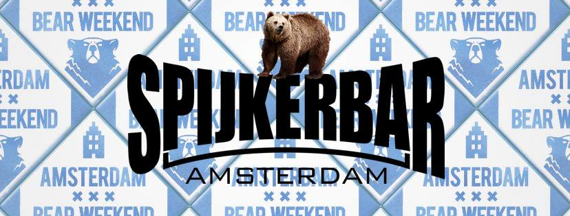 Amsterdam Bear Weekend 2019 Spijker Gay Bar