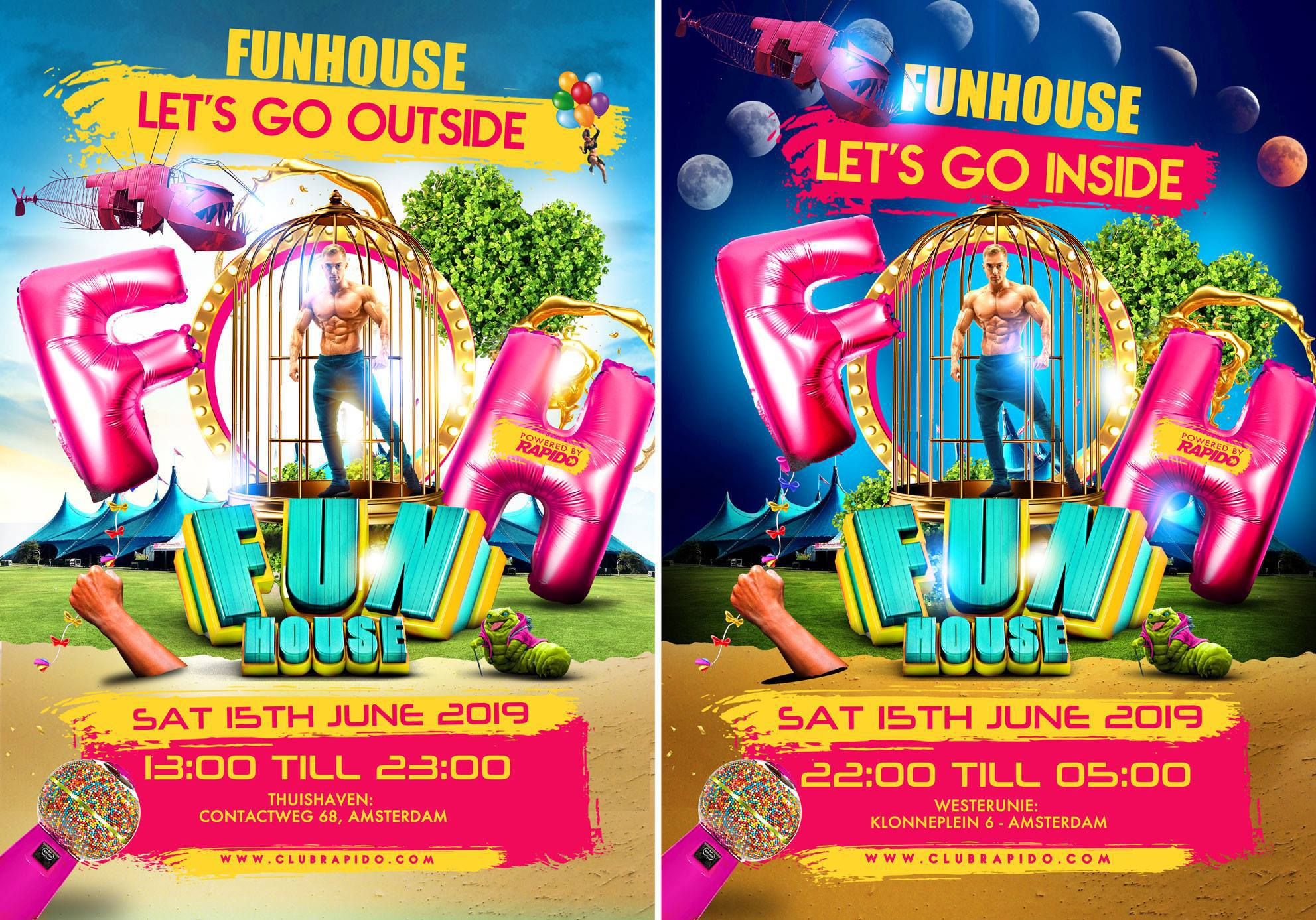 FunHouse Let's Go Outside - Let's Go Inside - Gay Festival