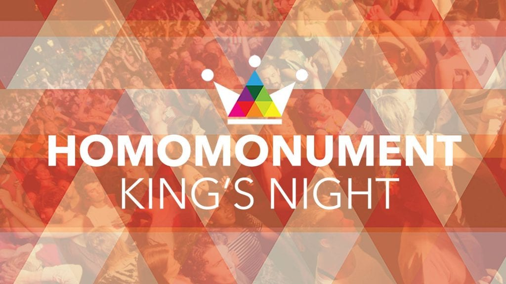 Homomonument King's Night Festival Gay Outdoor Street Party