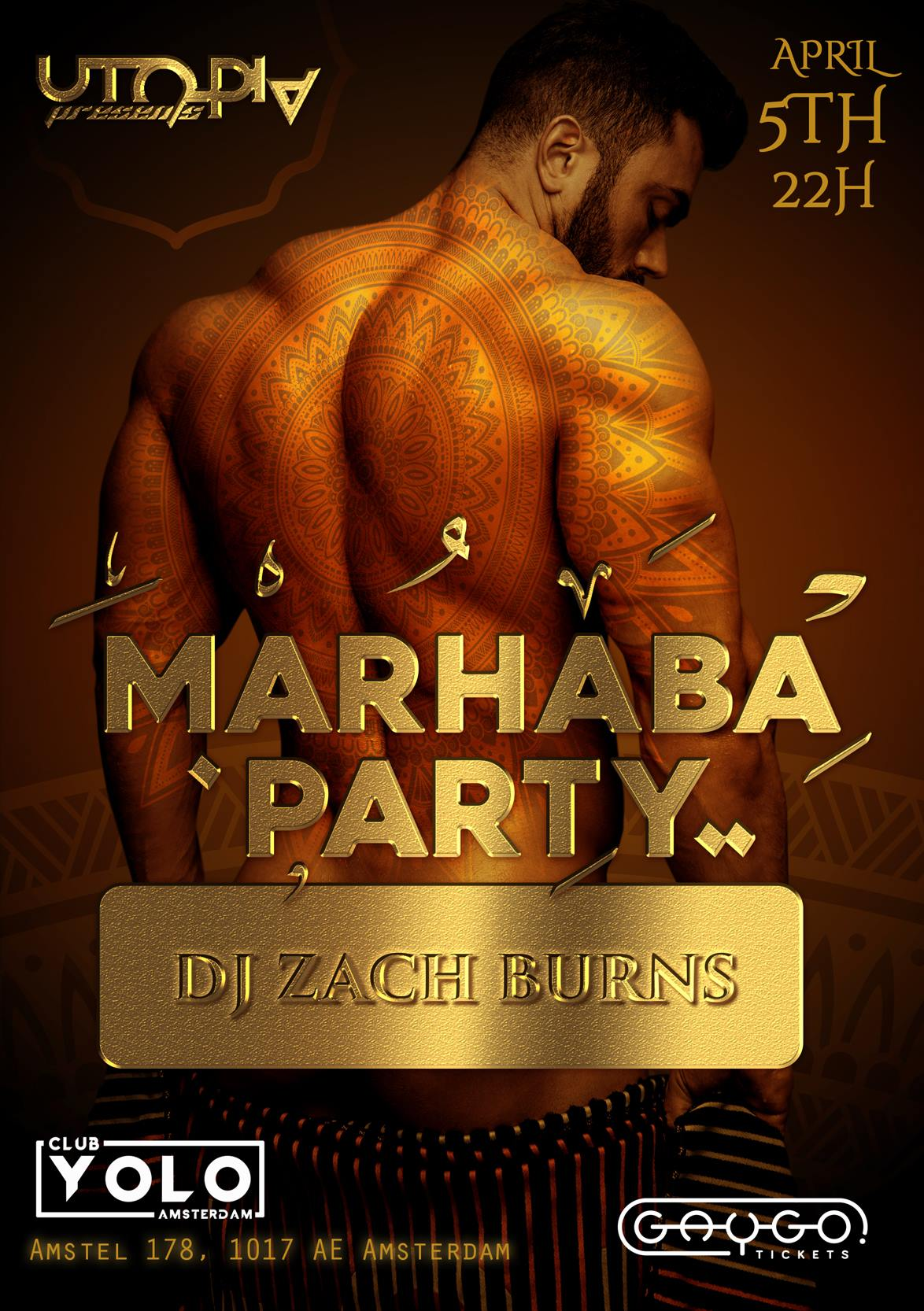 Marhaba Amsterdam Club Yolo Gay Middle Eastern Dance Party