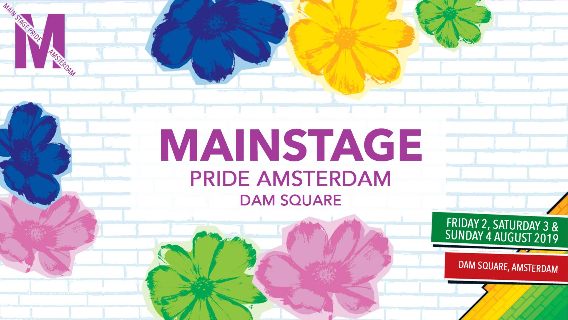 MainStage Pride Amsterdam Weekend 2019 ♡ Dam Square - Amsterdam Gay Pride 2019