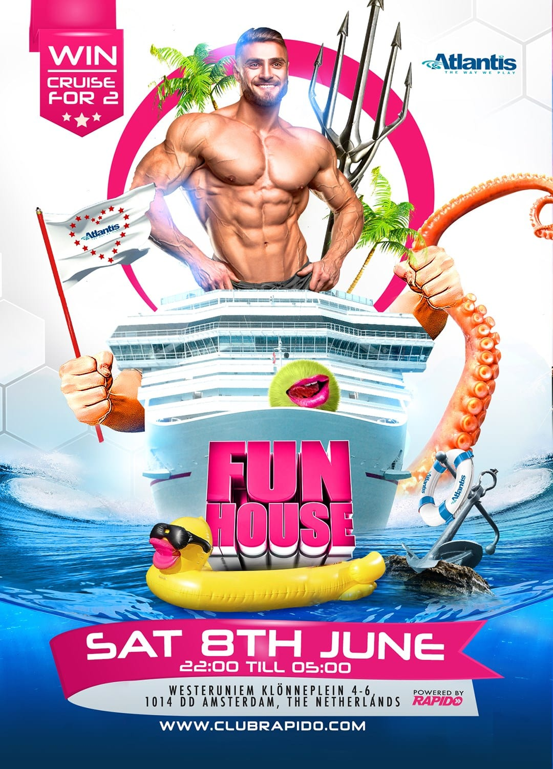 FunHouse Atlantis Gay Circuit Party Amsterdam