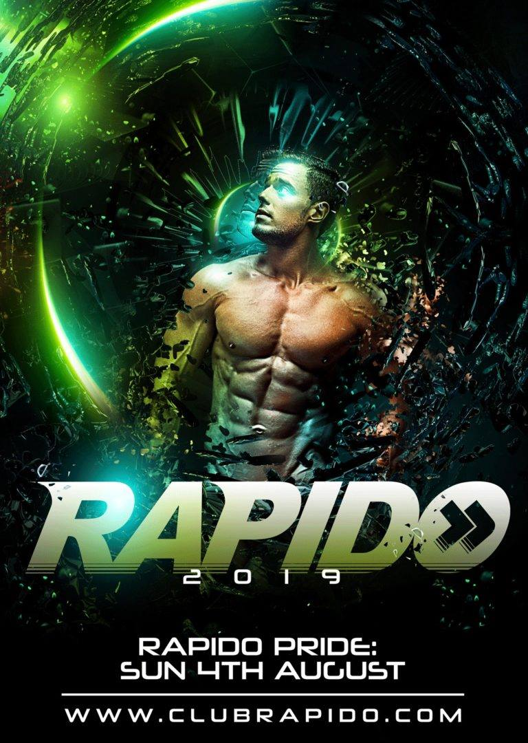 Rapido - the PRIDE Edition 2019 - Amsterdam Gay Pride