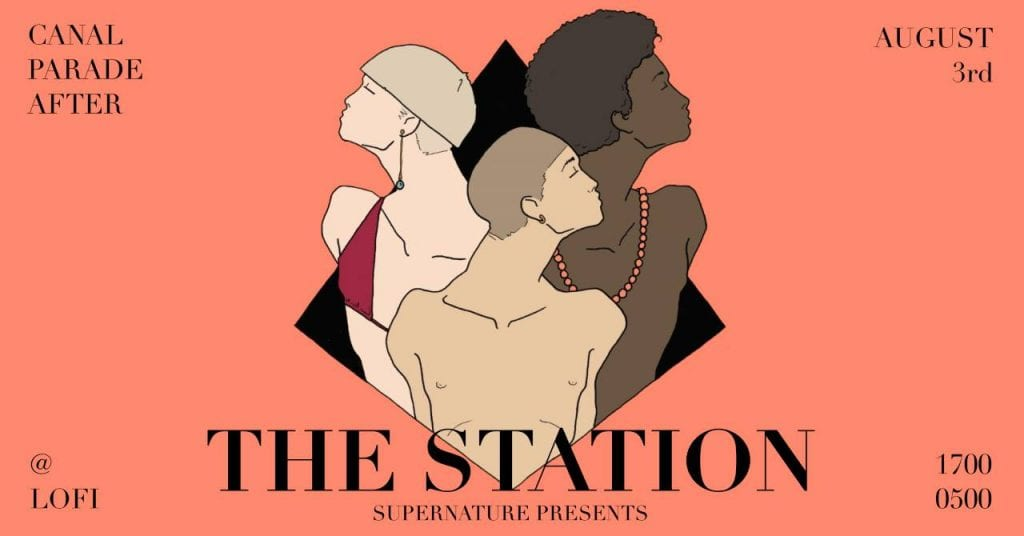 Supernature presents: The Station - Gay Pride Edition
