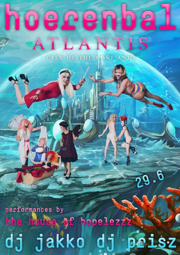 Hoerenbal - Atlantis - Club Church Amsterdam - Queer Dance Party