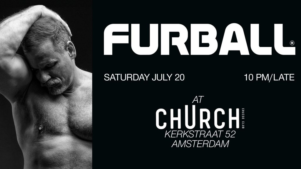 Furball July 2019 Bear Party Club Church Amsterdam