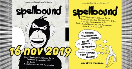 Spellbound November 2019 Queer Underground Techno Party