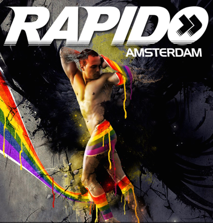 2 Rapido - the Pride edition - Gay Fetish Party - Gay Pride Amsterdam