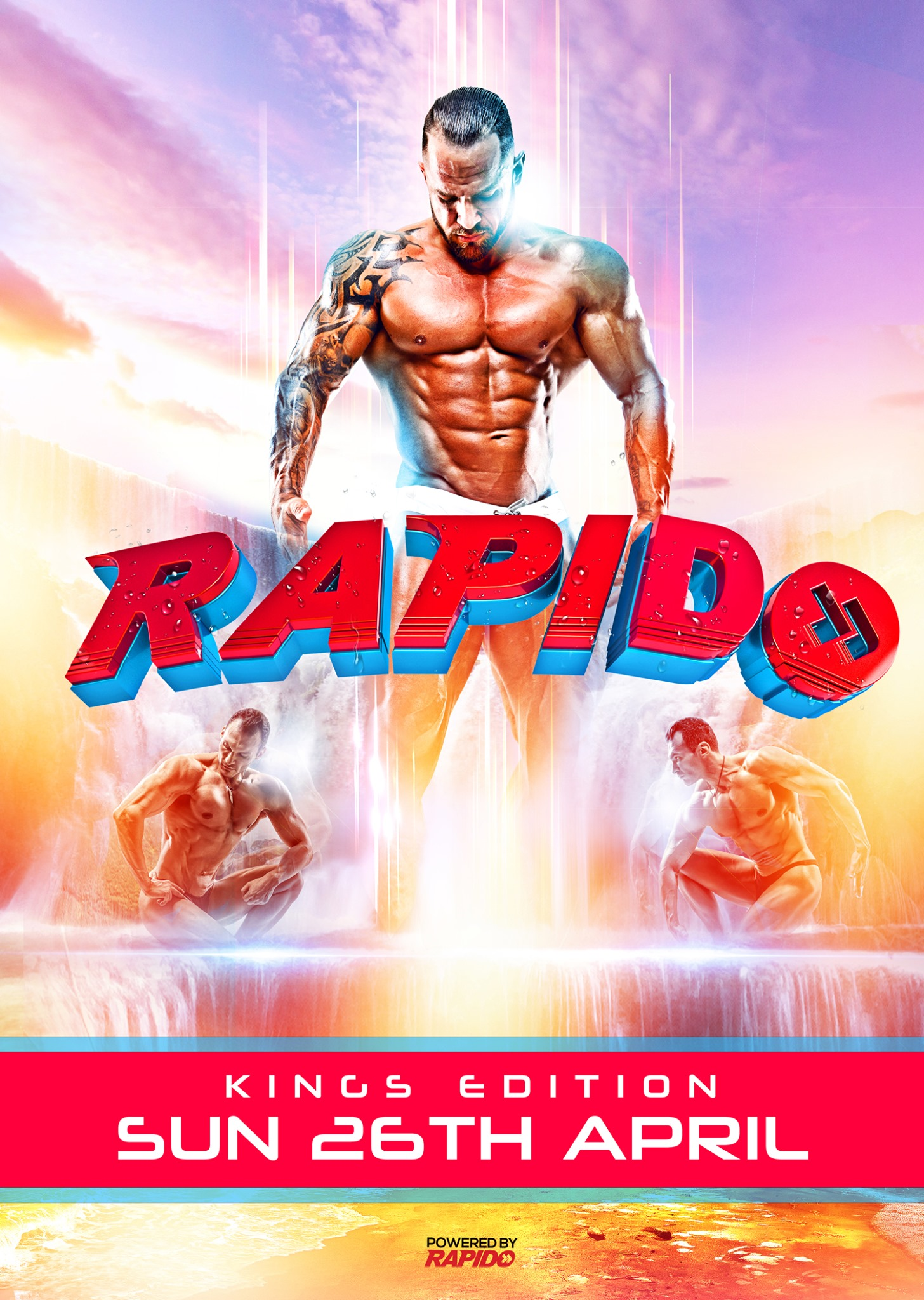 Rapido - the KING edition - Gay Fetish Circuit House Party - King's Day 2020 Amsterdam