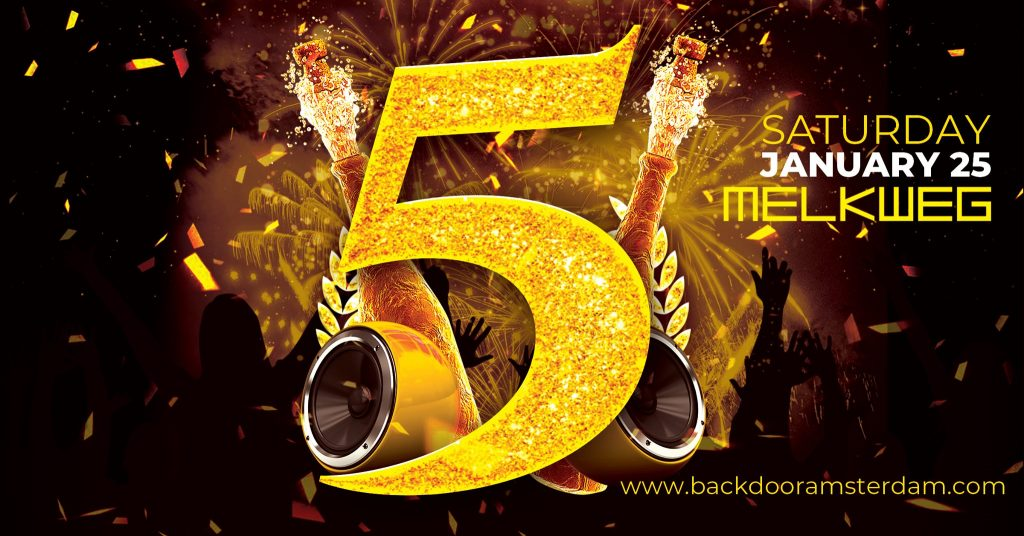 5 YRS of BACKDOOR - 25.01.2020 - Melkweg Amsterdam - Gay Circuit Party