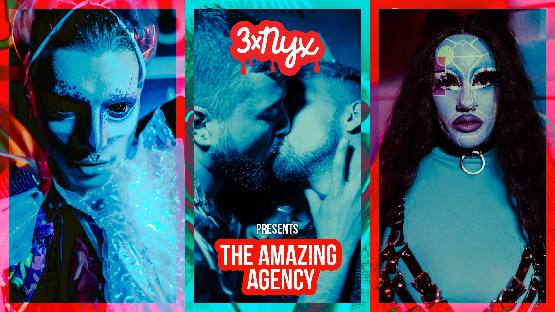 3x NYX presents The Amazing Agency - Queer Dance Party - Club NYX Amsterdam