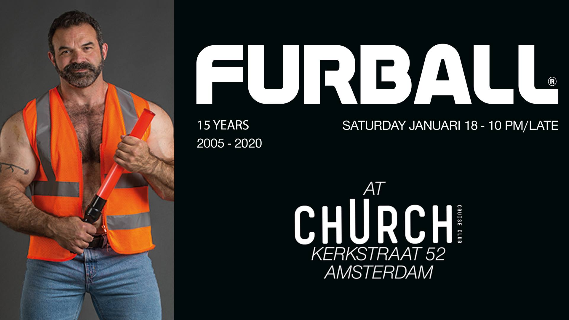 Furball Club Church - Gay Bear Fetish Dance Party Amsterdam