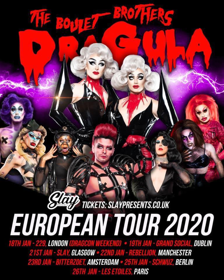 The Boulet Brothers Dragula - Official European Tour (Amsterdam)