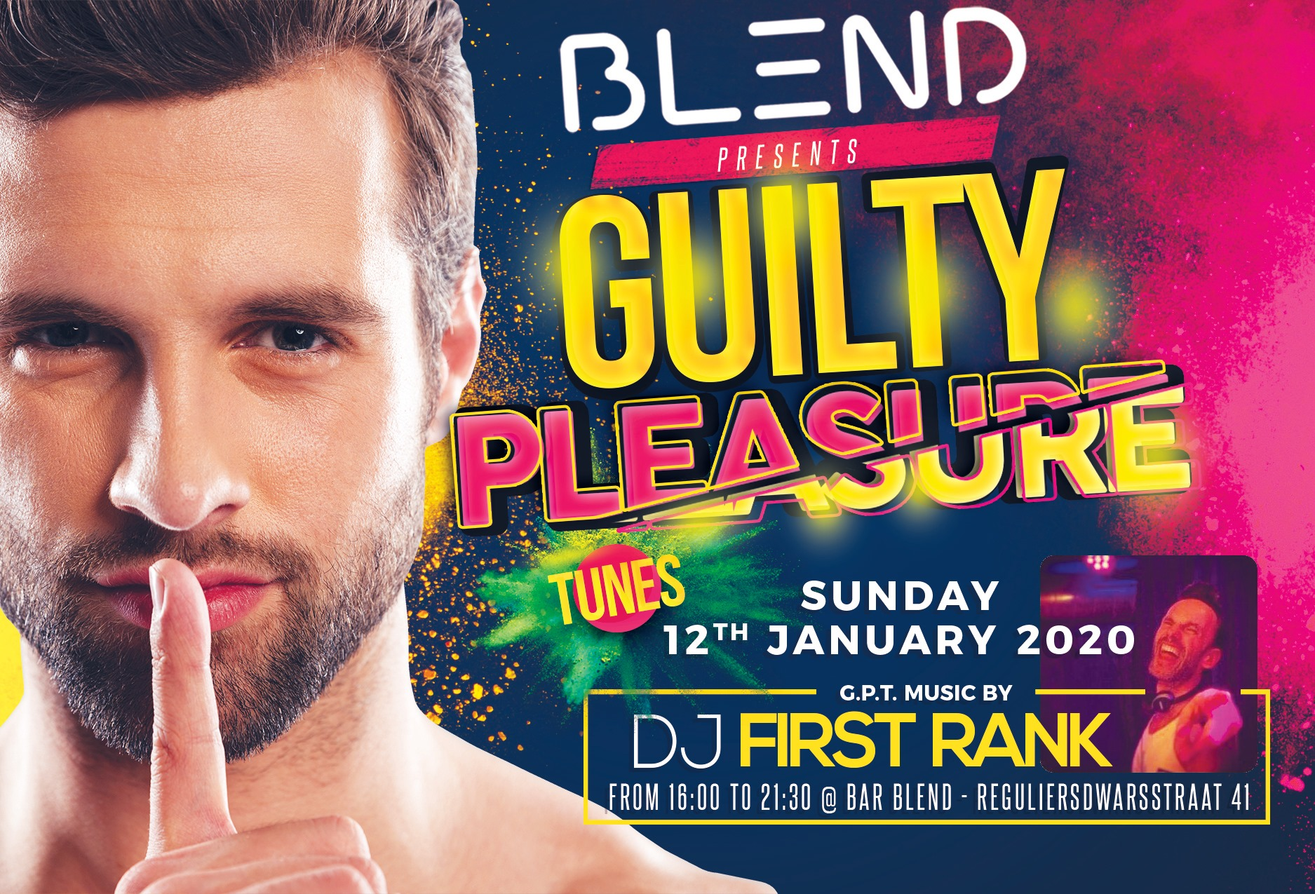 Bar BLEND's Guilty Pleasure Tunes - Pop Music & Gay Drag Queen Show Amsterdam