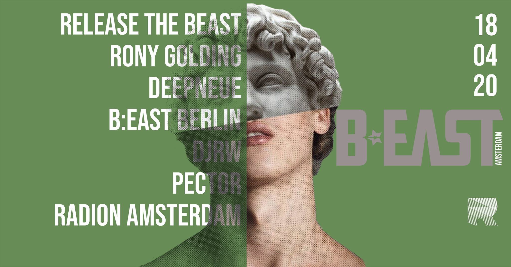 B:East Party - Amsterdam at RADION - Gay Techno Fetish Dance Party