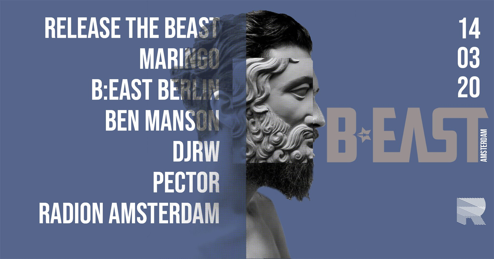 B:East Amsterdam at RADION - Gay Techno Dance Party