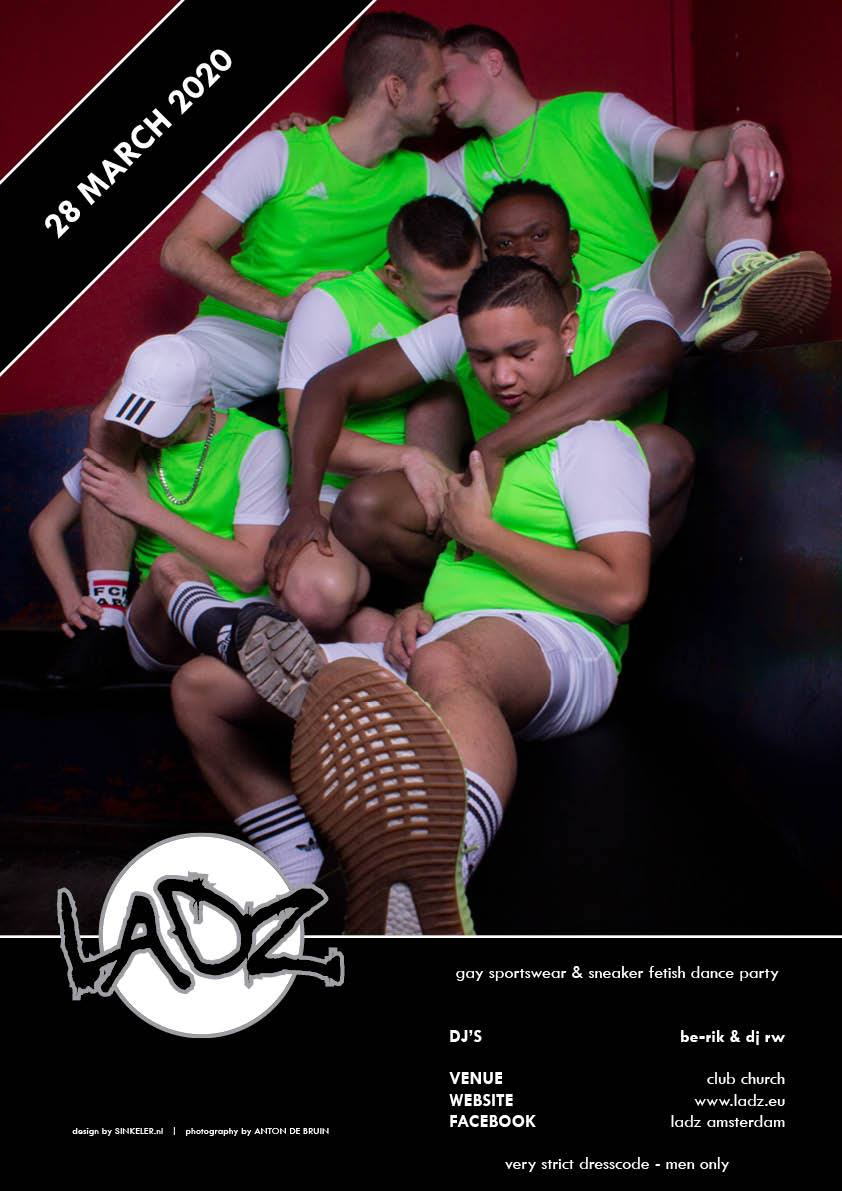 LADZ March 2020 - Gay Fetish Sportswear Party