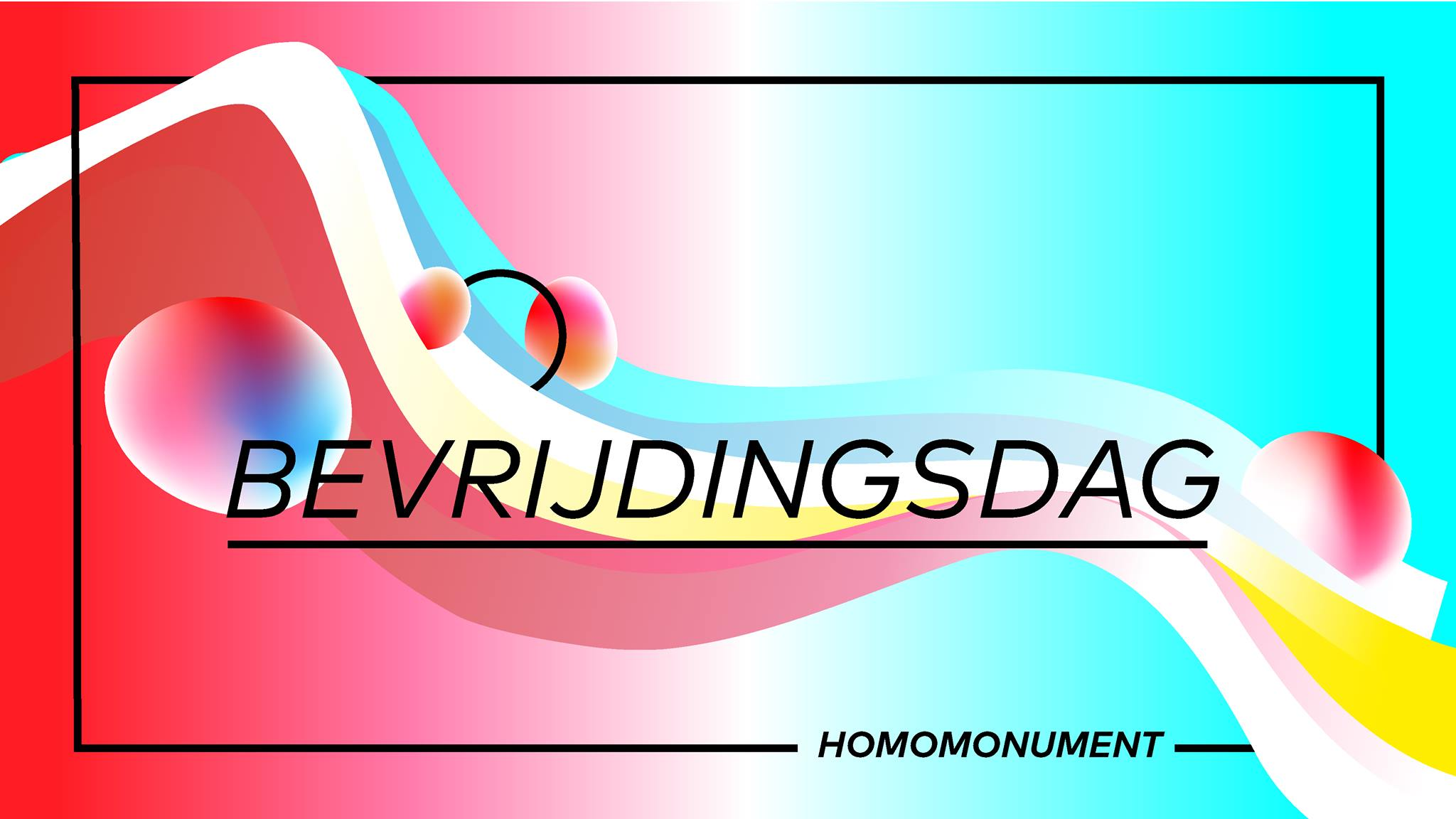 Bevrijdingsdag / Liberation Day - Homomonument Amsterdam - LGBT+ Outdoor Street Party