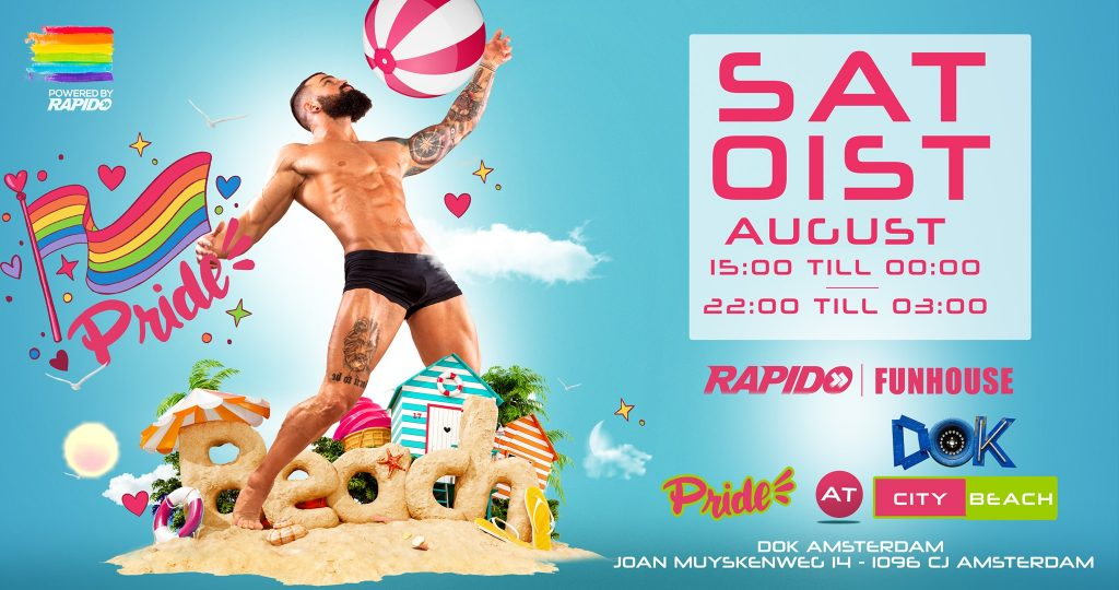 Pride at the City Beach - Rapido Events